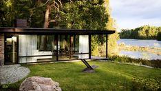 Architect bouwt vijf jaar lang aan zijn eigen zomerhuis in Zweden - Roomed