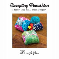 It's here!!! The Dumpling Pincushion is live! You can purchase the PDF pattern via Craftsy at the link in bio, or via my Etsy shop (listed in bio) ✂️ To celebrate, I'm hosting a giveaway!  I'm giving away 3 pincushions made by me, @elisabew and @catwithfins. To enter the giveaway, like this post and tag a sewing friend in the comments. 3 winners will be selected randomly on Friday at 6pm PST. Good luck! Thank you for supporting indie designers - I can't wait to see what you all make! ✂️…