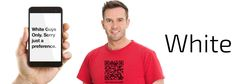The QR Code T-Shirt for #GayWhiteMen & Their Admirers #NewGayCode