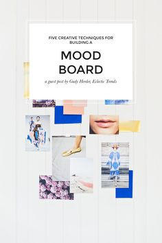 Well hello there you lovely lot! Today I'm thrilled to have Gudy Herder sharing her tips for creating standout mood boards. You know that I'm a huge fan of mood boarding, but I was more… Creating A Business, Creating A Brand, Personal Branding, Color Psychology, Business Logo, Business Advice, Fashion Branding, Fashion Stylist, Mood Boards