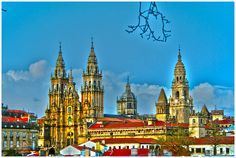 HDR Compostela by J.A.Sanjurjo, via Flickr