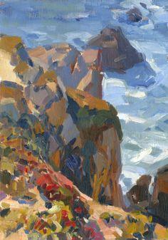 Klif bij Point Lobos