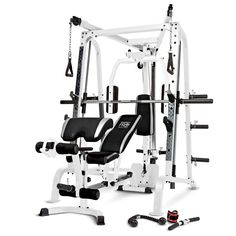 Marcy Diamond Smith Cage Workout Machine Total Body Training Home Gym System, Grey Exercise Machines For Home, Workout Machines, Best Workout Machine, Total Gym, Total Body, Home Gym Equipment, No Equipment Workout, Fitness Equipment, Free Weight Squats