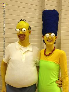 Turn Your Family Into The Simpsons For A Day Or Just Go As One Of Funny Characters Yourself Take Look At All Our Awesome Costumes And