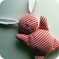 Free pattern: Recycled Mooshy Belly Bunny · Sewing | CraftGossip.com