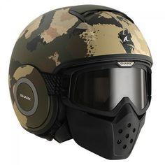 Faça sucesso absoluto entre seus amigos com este capacete de visual arrasador…
