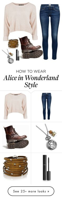 """""""Untitled #2368"""" by if-i-were-famous1 on Polyvore featuring Sif Jakobs Jewellery and Chanel"""