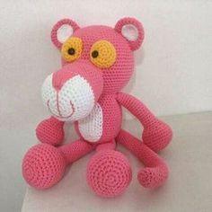 Amigurumi Do Zero Crochet Patterns Amigurumi, Amigurumi Doll, Crochet Dolls, Crochet Yarn, Free Crochet, Yarn Projects, Knitting Projects, Crochet Projects, Panthères Roses