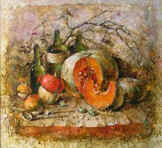"""Saatchi Art Artist Aurum Art Centre Odessa; Painting, """"The fall inspires"""" #art"""