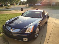 Cadillac XLR first day home snaps