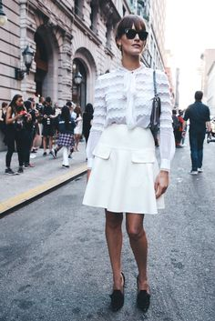 Street style en New York Fashion Week Vol.2