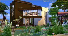 Japanese modern house at Tanitas8 Sims • Sims 4 Updates