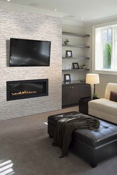562 Best Linear Fireplaces Linear Contemporary Images In
