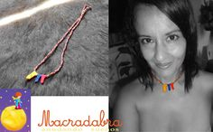 Collar Simple Colombia #macrame