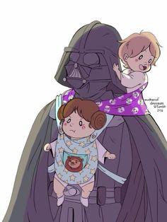 Vader Leia Luke