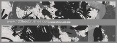 Grunge - Download  Photoshop brush http://www.123freebrushes.com/grunge-146/ , Published in #GrungeSplatter. More Free Grunge & Splatter Brushes, http://www.123freebrushes.com/free-brushes/grunge-splatter/ | #123freebrushes