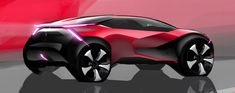 CITROËN C4, REINVENTING THE SEDAN - Auto&Design Design Logo, Design Poster, Car Design Sketch, Car Sketch, Deco Cars, Poster Cars, Citroën C4, Motorcycle Equipment, Futuristic Cars