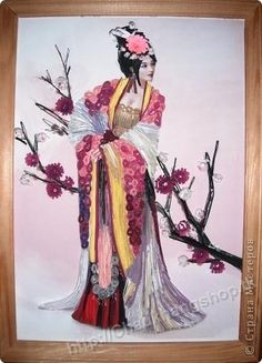 Mẫu tranh quilling. Amazing !! So lovely!!!!!