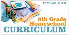 8th Grade Homeschool Curriculum