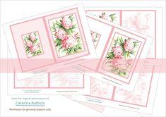 Pink Peonies Journal Kit (Pivoine). Digital Journal 5x7. Planner, Junk Journal, Ephemera. Printable Paper, Envelopes, Cards. JN001 Journal Pages, Junk Journal, Make Your Own Card, Digital Journal, Kit, Printable Paper, Pink Peonies, Cover Pages, Art Projects