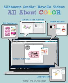 All About Color in Silhouette Studio®