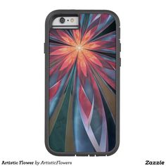 Artistic Flower Tough Xtreme iPhone 6 Case