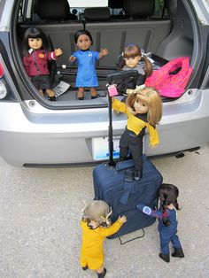 Star Trek American Girl by Poddiepea, via Flickr oh my god this is awesome. if I have girls I'm doing this to their dolls