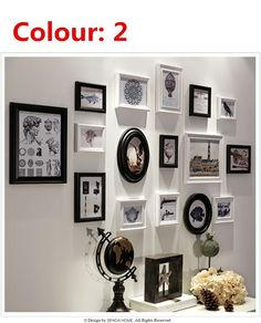 Fotolijst set fotolijst combinatie Bruiloft Gratis verzending houten fotolijst Set europese ontwerpen in The Modern Concise Style Unique wood Combination Square photo frame fashion wall easel table sets Stylish photo frameUSD van kader op AliExpress.com | Alibaba Groep