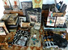 inspiration galore on this table by Elizabeth Bunsen