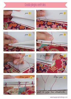 tutorial encuadernación copta