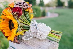 Rosary wrapped handle bridal bouquet