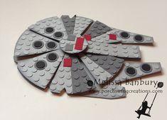 Lego Millenium Falcon Card