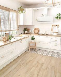 Kitchen Room Design, Home Room Design, Modern Kitchen Design, Home Decor Kitchen, Interior Design Kitchen, Home Kitchens, House Design, Kitchen Ideas, Minimal Kitchen