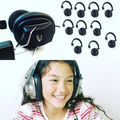 #CALIFONE 1534BK SMALLER SIZED 3068 STEREO HEADPHONES FOR #YOUNG #LISTENERS - 10 PACK #stereo and #mono user switch for optimal sound quality.  Perfect for #English #Language #Learning / English Language #Development #language #labs and #speech #pathology  SHIPPING NOW!😁🎧🎧💻🍏 #encoredataproducts #classroom #headsets #headphones