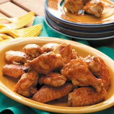 Buffalo Wings Recipes from Taste of Home, including Spicy Chicken Wings Recipe