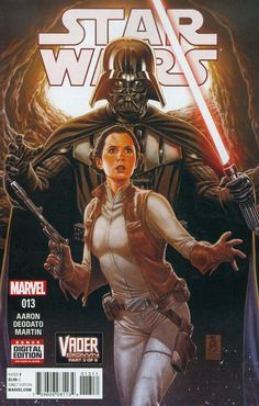 Star Wars (Vader Down Part 3 of First Printing: (W) Jason Aaron (A) Mike Deodato (CA) Mark Brooks. Bringing together the smash-hit Star Wars and Darth Vader series! Leia comes face to face with true evil! Star Wars Film, Star Wars Holonet, Leia Star Wars, Star Wars Princess Leia, Star Wars Poster, Star Wars Darth, Star Wars Comics, Star Wars Comic Books, Marvel Comics