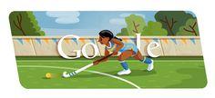 London 2012 Hockey: Google displays its sixth Olympics doodle