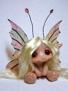 OOAK Beautiful Butterfly Fairy Trollfling Troll by Trollflings