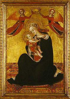 Madonna of Humility, c. 1435, Sassetta