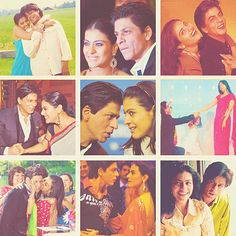 Kajol and SRK.the cutest couple Bollywood Actors, Bollywood Celebrities, Beautiful Couple, Beautiful Images, My Name Is Khan, Shahrukh Khan And Kajol, Kuch Kuch Hota Hai, Perfect Together, Vintage Bollywood