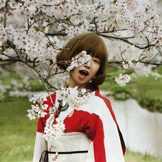 """🐼マリーパンダ🦋 on Instagram: """"桜は散ってますが、今日はユキが降るかも? #YUKI #YUKIちゃん"""" Yuki, Victorian, Instagram, Makeup, Dresses, Animals, Fashion, Maquillaje, Vestidos"""