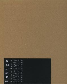 Kanji Mizutani, Indigo (Tokyo: Sokyu sha, 2004)