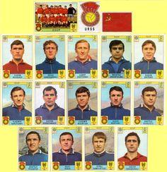 Panini stickers 1970 FIFA World Cup Mexico - Soviet Union (USSR) squad