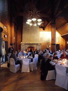 The Watchtower Lodge, Black Hawk State Park, Rock Island, Illinois - this is a wedding reception, February 23, 2013.  Marske Music Productions - Kirk Marske, DJ & emcee, www.marskemusic.com, info@marskemusic.com