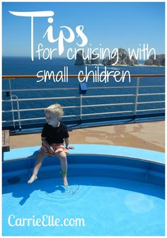 "Tips for Cruising with Kids and Babies  {{The days ""at sea"" (not stopping anywhere) are what worry me w/ the kids.. I don't want them to get BORED!  But, after talking to a few different cruise line reps, there are TONNNSSS of things that they have for them to do!!}}"
