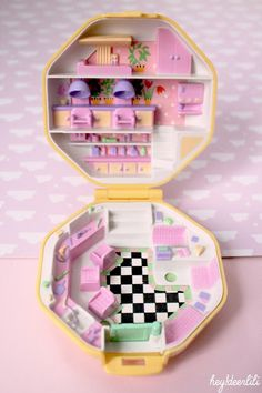 Brocante Polly Pocket vintage http://heydeerlili.blogspot.fr