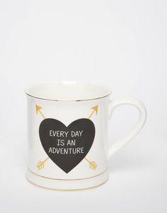 Sass & Belle Golden Arrow Adventure Mug