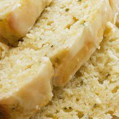 Lemon Zucchini Bread - I would use whole wheat flour and coconut oil instead :)