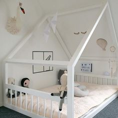 Children's room with sloping ceilings, baby room with sloping ceilings ideas luxury children's room … - Babyzimmer
