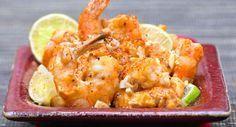 Crevettes au satéDécouvrir la recette des crevettes au saté